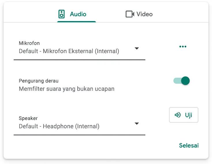semanggi audio meeting